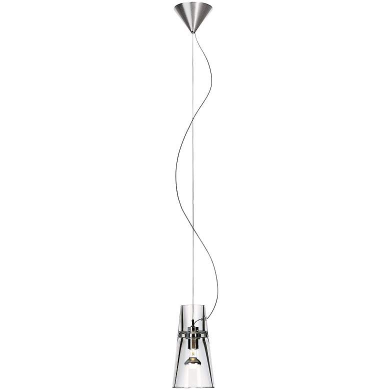 Leucos Kon S Clear Crystal Mini Pendant Light