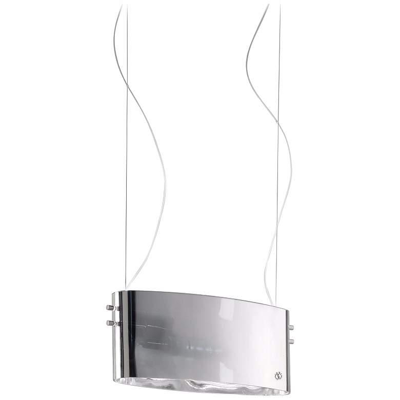 Leucos Vittoria S2/C Clear Glass Pendant Light