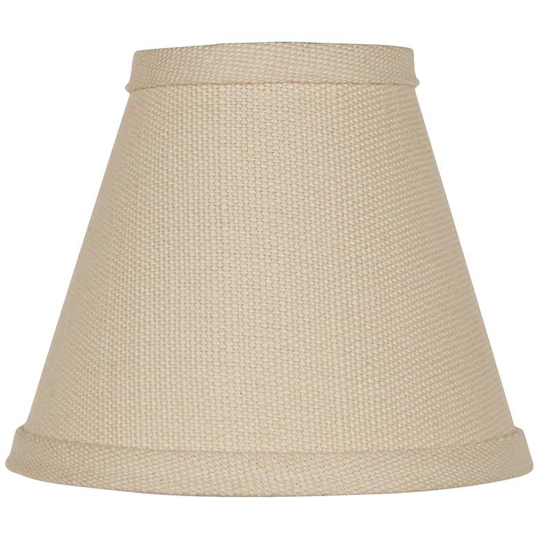 Beige Linen Lamp Shade 3x6x5 (Clip-On)