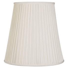 17 Inch And Up Large Table And Floor Lamps Pleated Lamp Shades