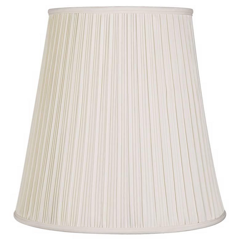 2f465948c23 Creme Mushroom Pleat Lamp Shade 12x18x18 (Spider) -  K5507