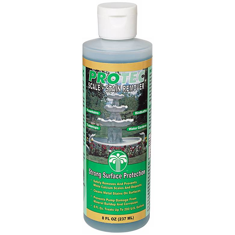 Protec 8oz Fountain and Statuary Scale-Stain Water Treatment