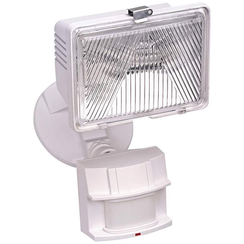 "White 8"" High Dark Sky Motion Sensor Security Light"