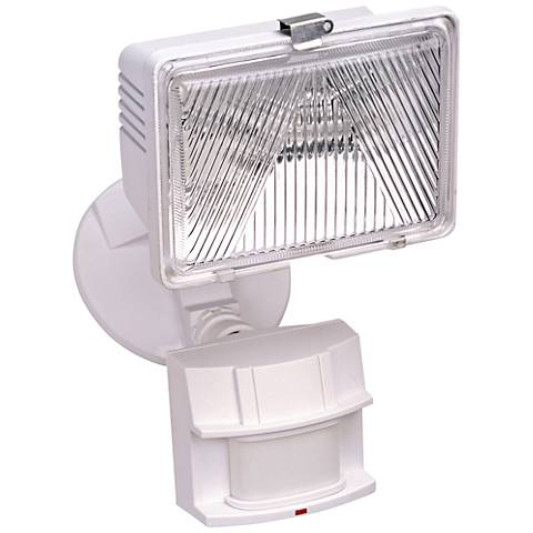"White 11 1/2"" High Dark Sky Motion Sensor Security Light"