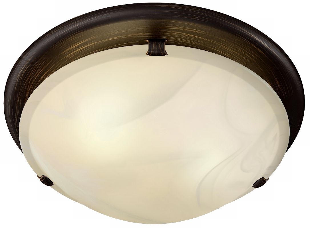 Broan Sleek Circle Rubbed Bronze Bathroom Fan with Light  sc 1 st  L&s Plus & Bathroom Exhaust Fans and Lights | Lamps Plus