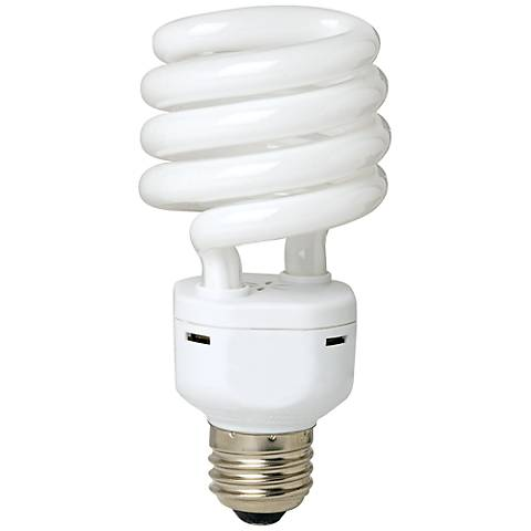 23 Watt Warm White Energy Star Spiral CFL Bulb