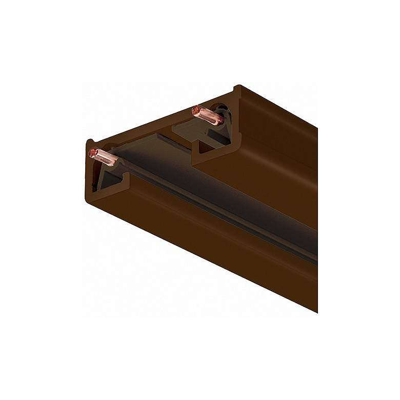 Halo Compatible Bronze One-Circuit 4-Foot Track Section