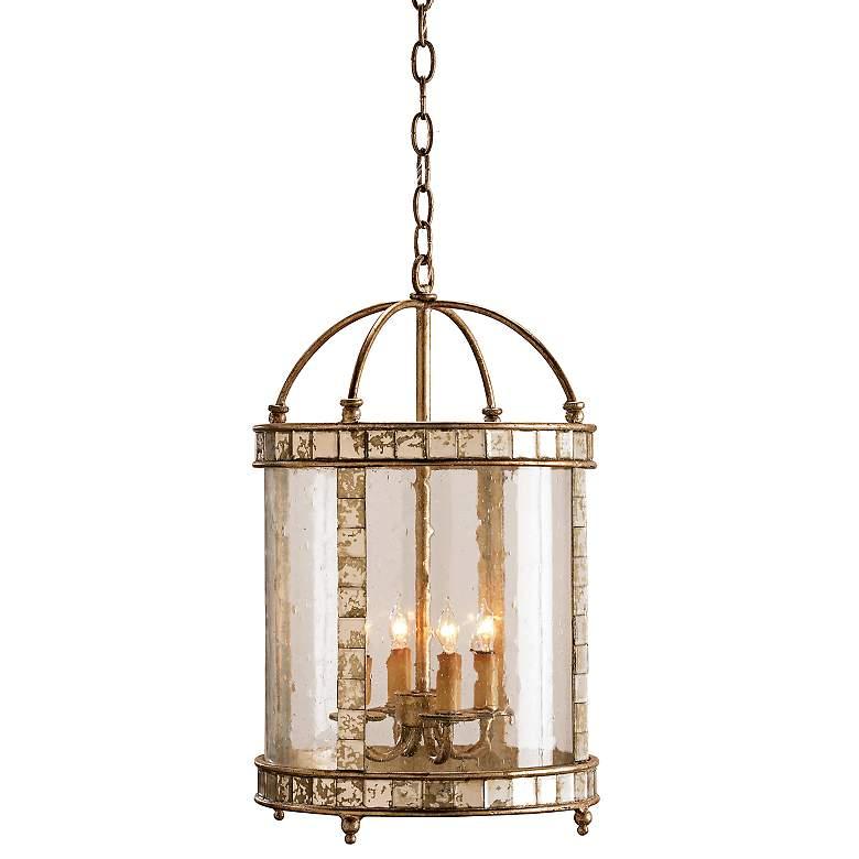 Currey and Company Corsica Lantern Small Pendant Light