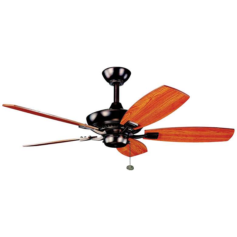 """44"""" Kichler Canfield Oil Brushed Finish Ceiling Fan"""