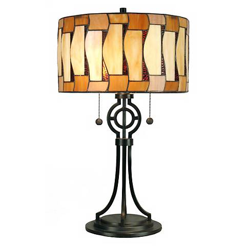 Dale Tiffany Addison Art Glass Table Lamp