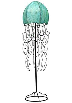 Bronze eangee contemporary floor lamps lamps plus eangee jellyfish blue cocoa leaves 64 aloadofball Gallery