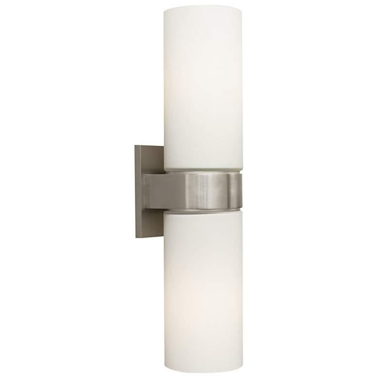 "Tech Lighting Hudson 16"" High Satin Nickel Wall Sconce"