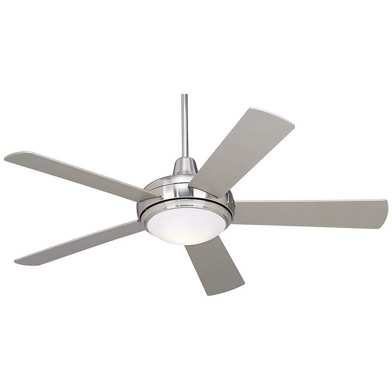 "52"" Casa Compass™ Brushed Nickel Ceiling Fan"