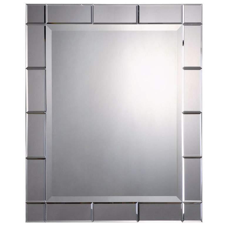 """Uttermost Makura 27"""" x 33"""" Rectangular Wall Mirror"""