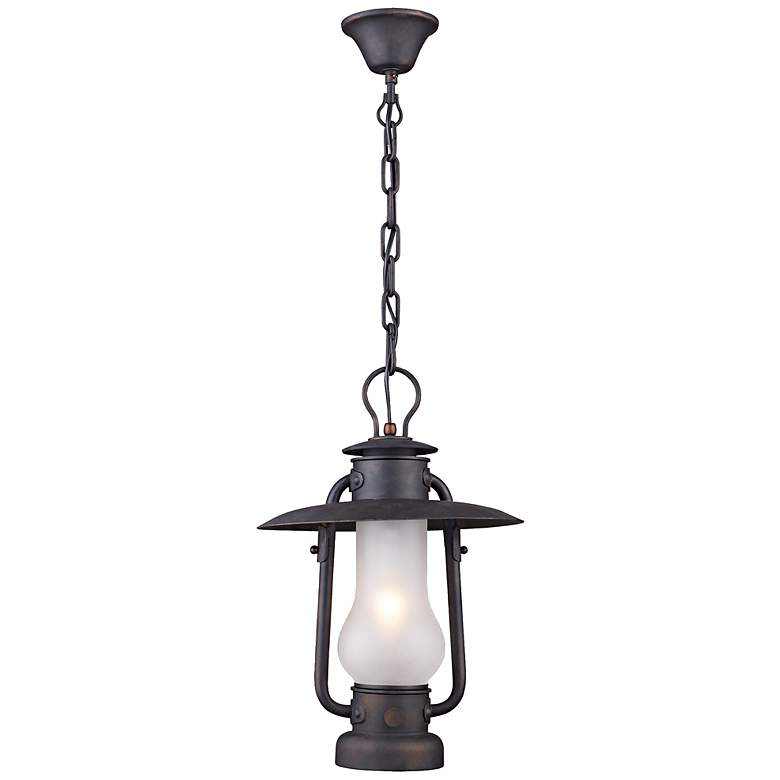"""Stagecoach Collection 12"""" Wide Lantern Pendant Chandelier"""