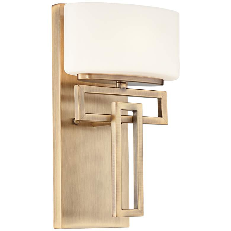 """Hinkley Lanza 12"""" High Brushed Bronze Wall Sconce"""