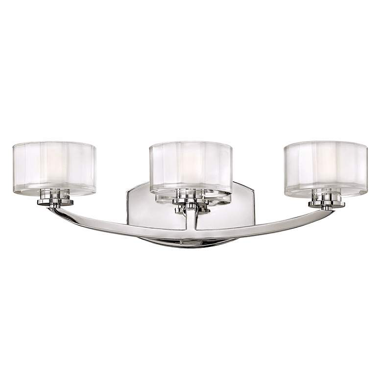 "Hinkley Meridian Collection 21"" Wide Bathroom Wall Light"