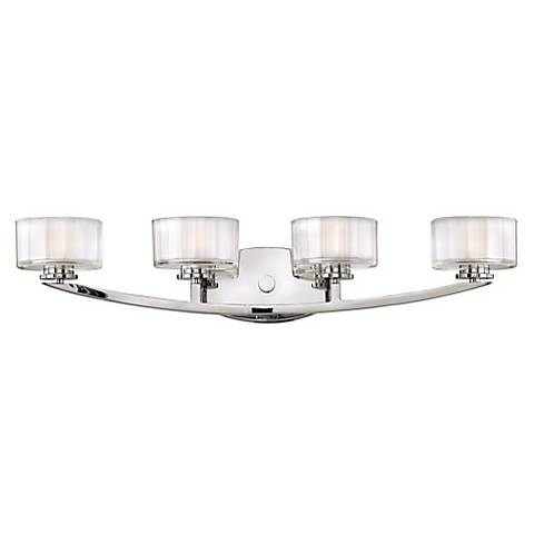 """Hinkley Meridian Collection 29"""" Wide Bathroom Wall Light"""
