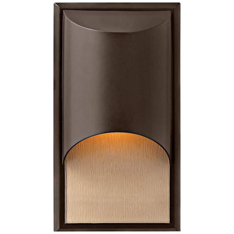 """Hinkley Cascade Bronze 14 1/2"""" High Outdoor Wall Light"""