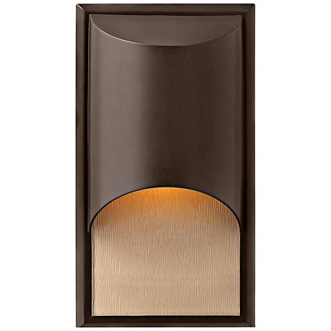 "Hinkley Cascade Bronze 14 1/2"" High Outdoor Wall Light"