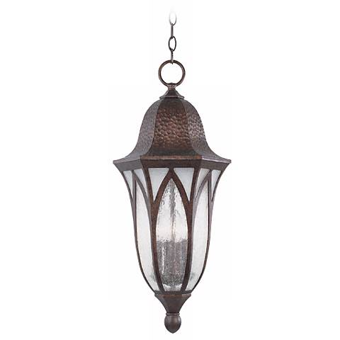 "Berkshire Collection 25 1/4"" High Outdoor Hanging Light"
