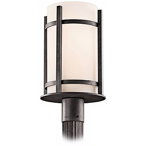 Kichler camden 17 high outdoor post mount light