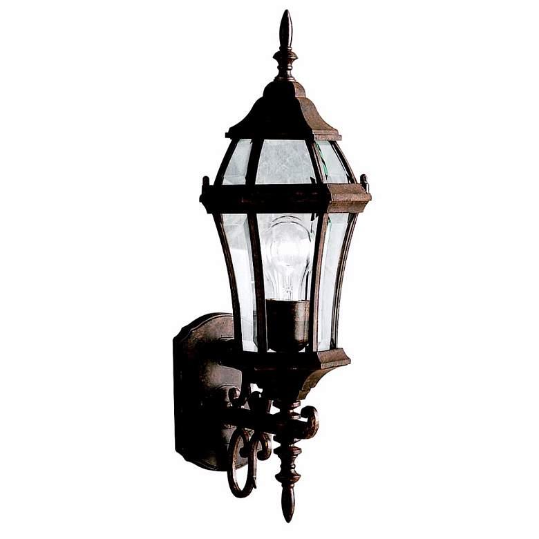 "Townhouse Tannery Bronze 21 1/2"" High Outdoor Wall Light"