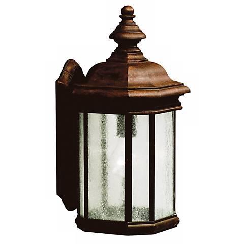 """Kirkwood Tannery Bronze 17"""" High Outdoor Wall Light"""