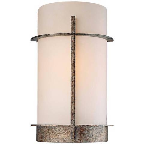 """Compositions Collection 12 1/2"""" High Iron Wall Sconce"""
