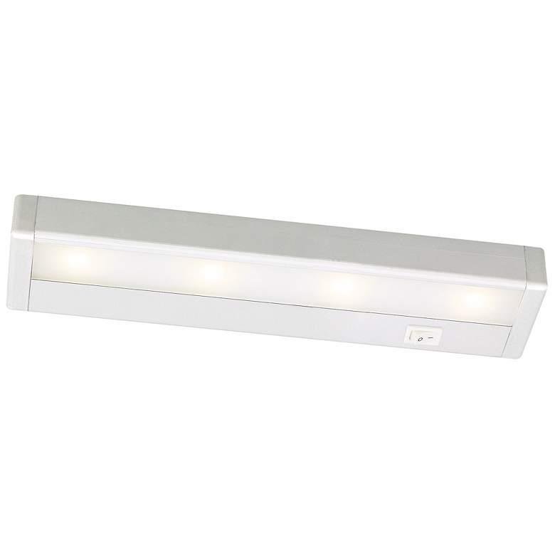 "WAC Satin Nickel LED 12"" Wide Under Cabinet Light Bar"