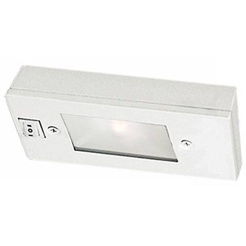 "WAC White Xenon 6"" Wide Under Cabinet Light Bar"