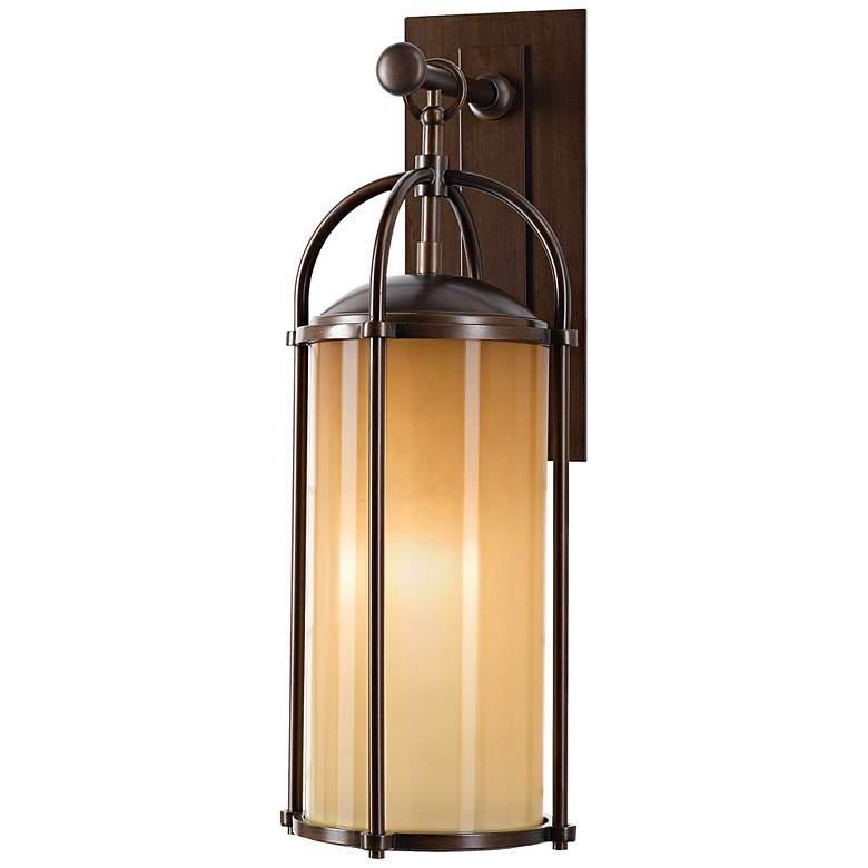 """Feiss Dakota 20 3/4"""" High Outdoor Wall Light"""