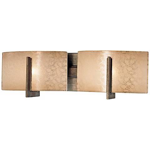 "Clarte Collection 17 3/4"" Wide Iron 2-Light Bath Light"