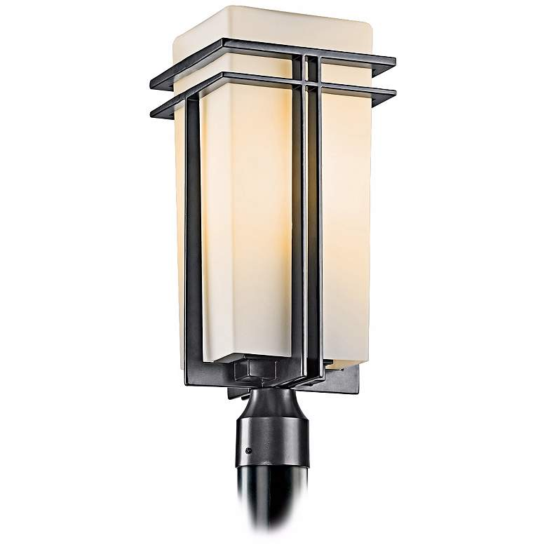 """Tremillo Collection Black 20"""" High Outdoor Post Light"""