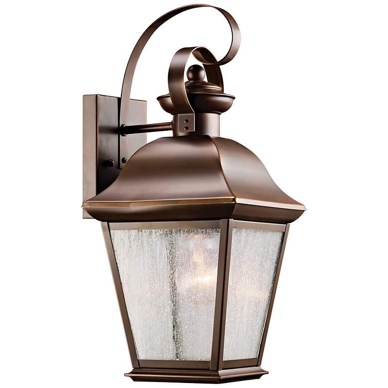 "Kichler Mount Vernon 17"" High Outdoor Wall Light"