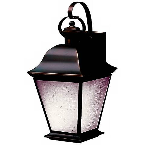 "Mount Vernon ENERGY STAR® 19 1/2"" Outdoor Wall Light"