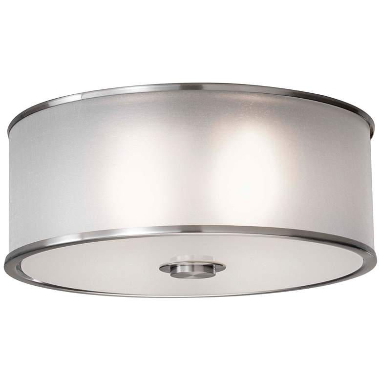 """Feiss Casual Luxury 13"""" Wide Ceiling Light Fixture"""