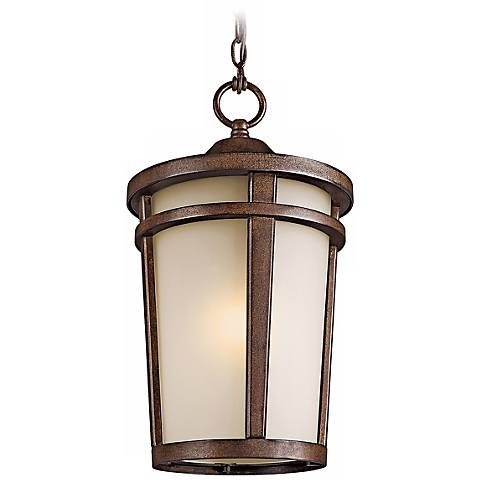 "Atwood Energy Efficient 18"" High Outdoor Hanging Light"