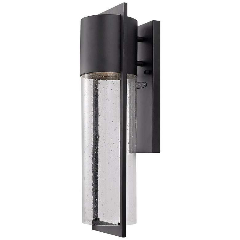 "Hinkley Shelter 20 1/2"" High Black Outdoor Wall Light"
