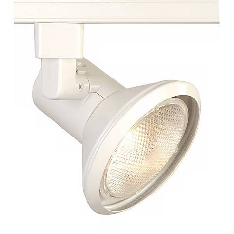 Juno Flared Steps White PAR30 Track Light Head