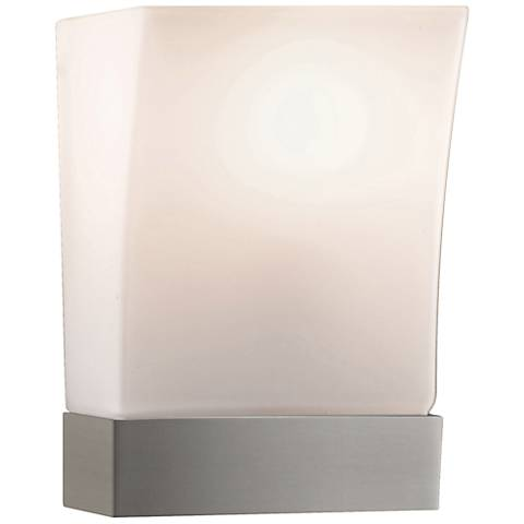 """Feiss Blake Brushed Steel 9"""" High Wall Sconce"""