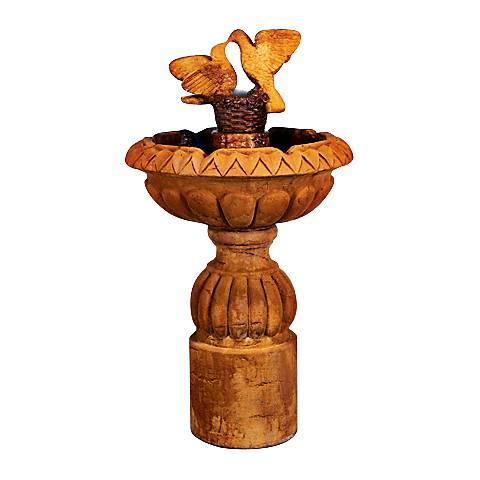 "Henri Studio 54"" High Paloma Cascada Pedestal Fountain"