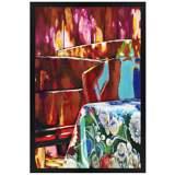 """June Afternoon 30"""" High Rectangular Giclee Wall Art"""