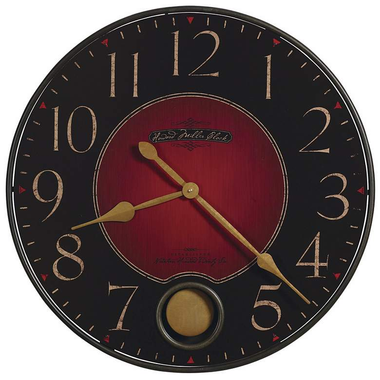 "Howard Miller Harmon 26 1/4"" Wide Wall Clock"