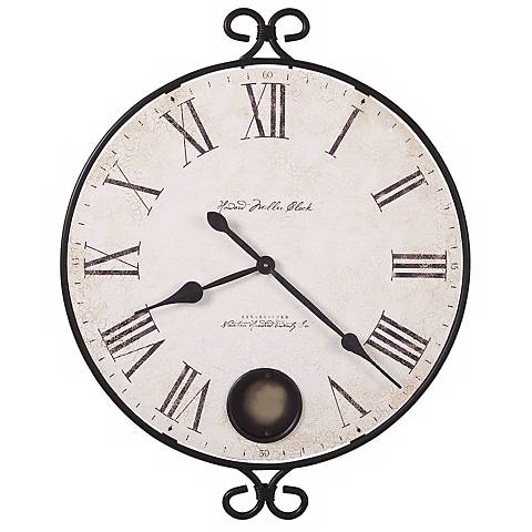 "Howard Miller Magdalen 26 1/4"" Wide Wall Clock"