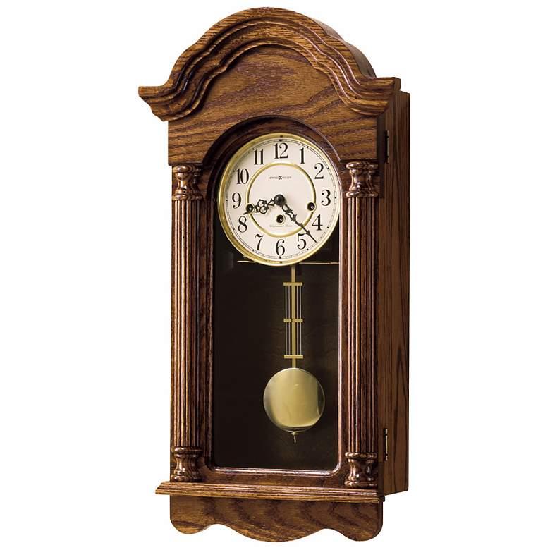 "Howard Miller Daniel 25 3/4"" High Chiming Wall Clock"