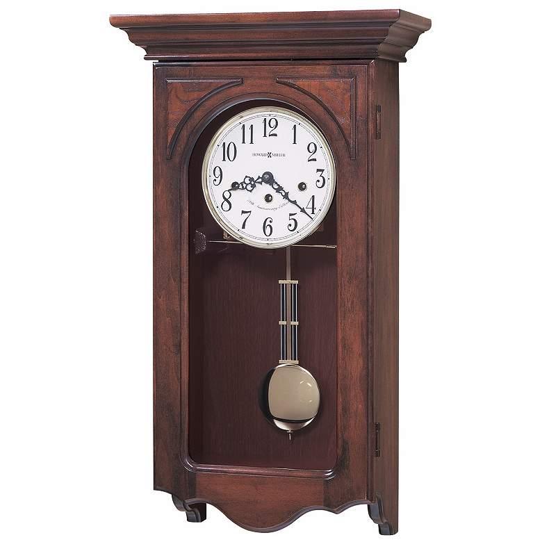 "Howard Miller Jennelle 24 1/4"" High Chiming Wall Clock"