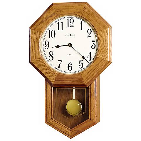 "Howard Miller Elliott 21 3/4"" High Wall Clock"
