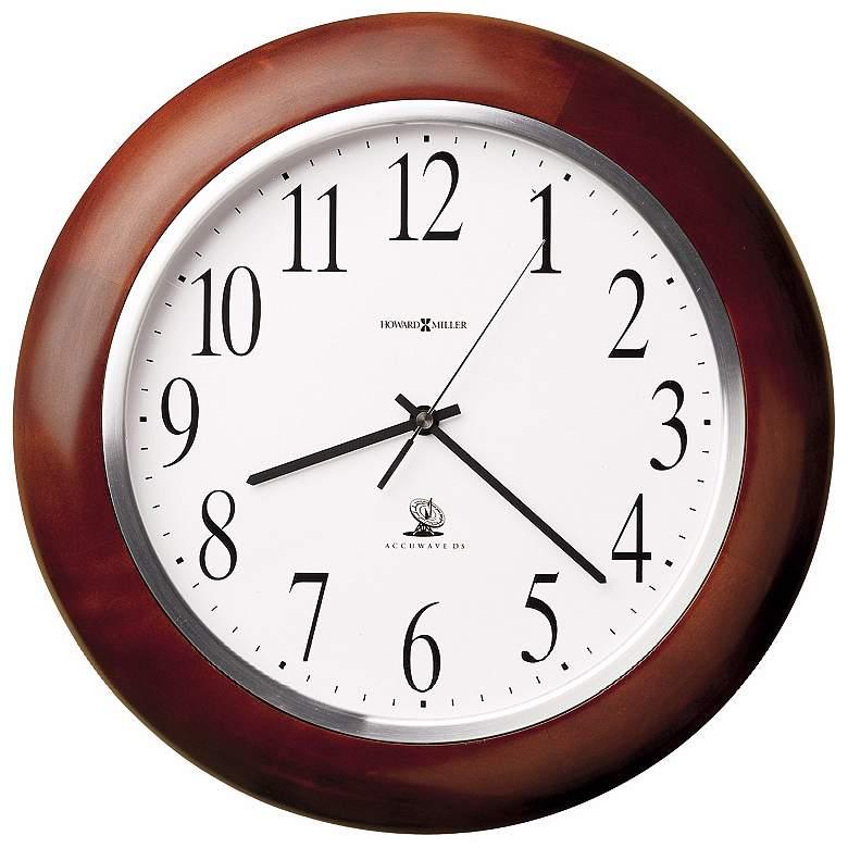 "Howard Miller Murrow 13 3/4"" Wide Wall Clock"