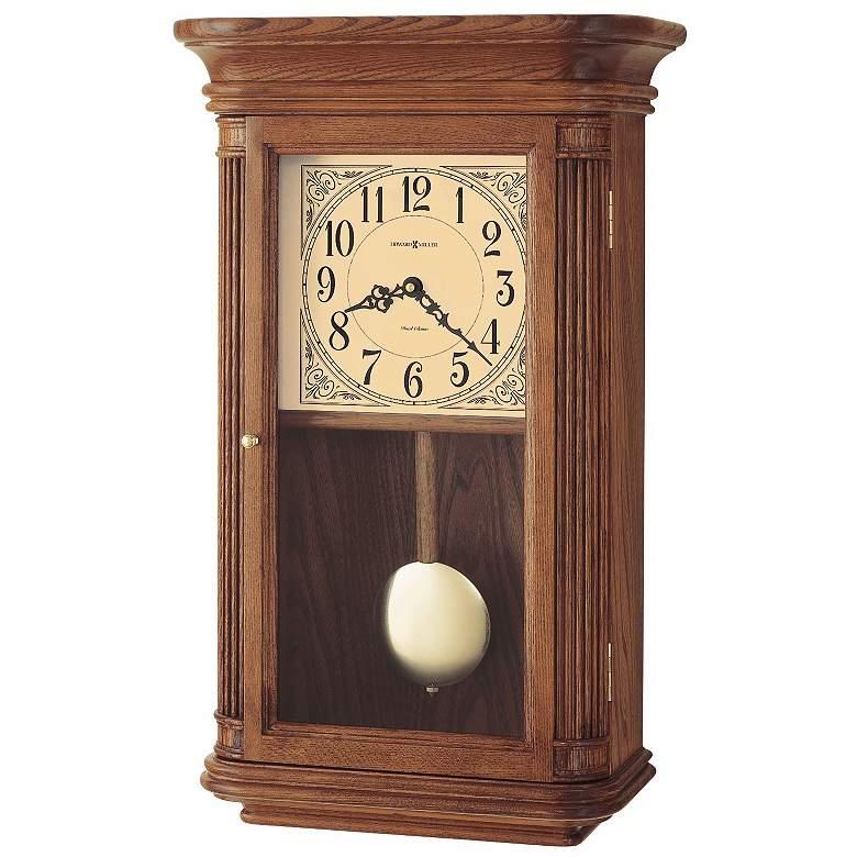 "Howard Miller Westbrook 21 1/2"" High Chiming Wall Clock"